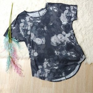 The North Face Floral Print Flashdry Tee